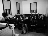 Kyle Cassidy teaching at Harvard (photo by BD Colen)