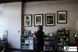 Blow Salon - Art Hanging - 8/15/09