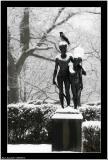 20060314 - Bird & statue -