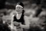 The happiness of the long distance runner.