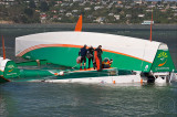 Groupama 3 arrives at the bottom of the world