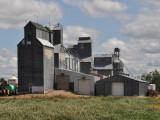 North Dakota grain elevators.