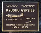 Gypsy plaque at Air Force Museum