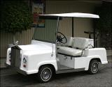 Rolls Royce Golf Cart  ;-)  Built in 1976...