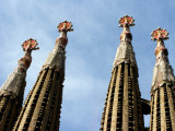 Barcelona - Sagrada Familia towers