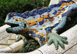 Barcelona - the dragon of Parc Guell