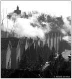 6 Jan 2006 Clouds over Ferrara's cemetery