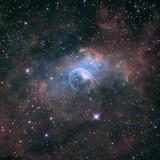 NGC 7635 (Hubble Palette)