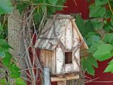 Little birdhouse on the prairie