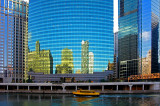 Chicago river at Franklin street