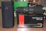 Sigma APO 100-300 F4 EX DG