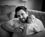 Luca and Dad (by the wife)