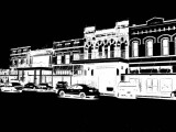 2 Color View of Old Downtown Goliad