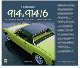 Porsche 914 & 914-6 - The Definitive History of the Road and Competition Cars