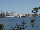 View towards Sydney CBD