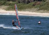 Windsurfers at La Perouse