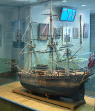 Model of Cook's Endeavour