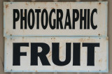 What about non-photographic fruit?