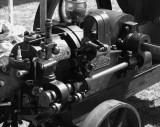 Restored farm engine