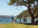 Choosing a spot for a picnic