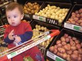 Charlie finding potatoes uninteresting