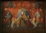 Mon Seul Désir from Lady and Unicorn tapestry series- Musee Cluny Paris