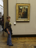 Carolyn and Botticelli's Madonna and Child with the Young John the Baptist jpg