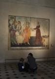 Starting Young - Botticelli's  Venus and Three Graces  Villa Lemmi Fresco
