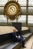 Malcolm at Musee d'Orsay with Original Rail Station Clock .jpg