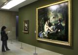 Reading about Manet's Dejeuner sur l'Herbe - 1863