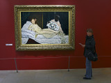 Carolyn and Manet's Olympia 1863
