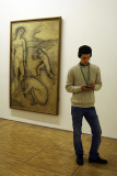 Pompidou The Pose and Matisse's Study for Luxury II ,jpg