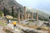 Delphi - Karl and Temple of Apollo.jpg