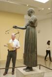 Delphi  - Bronze Charioteer of Delphi and Karl .jpg
