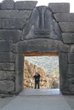 Mycenae - Photographer at Lion Gate .jpg