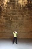 Mycenae - Photographer in Tomb of Atreus