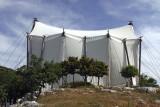 Bassai  - covering  tent over Temple of Apollo Epikourios.jpg