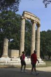 Olympia - Tholos at Olympia .jpg
