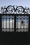 Santorini  Beware of the Dog sign on gate .jpg