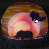 White Rhino Sunset 2 Size: 1.58 Price: SOLD