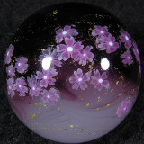 Cherry Blossom Blessing Size: 1.28 Price: SOLD