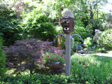 All of the birdhouses you see were made by Lonny, some quiter whimsical
