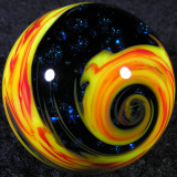 Steve Willis, Twisted Fire and Ice Size: 1.07 Price: SOLD