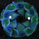 Pinwheel Wizard Size: 1.28 Price: SOLD