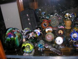 Shelf #6 - Murrine artists (Juedemann, Jorgenson, Taj, Chase) and other painted styles