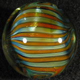 Alternating silver and gold fumed lines are so, SOOO shiney and bright!