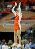 Virginia Tech Hokies Cheerleader