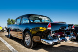 1955 Chevy with 1932 Ford Reflection