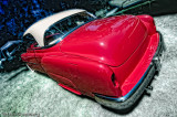 1952 Chevy in Rasberry and White