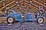 1929 Ford Roadster on a 1932 Frame